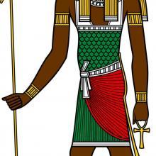 Египетская мифология до 4-х дверей