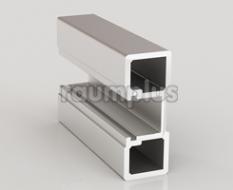 Профиль вертикальный серии 150 серебро