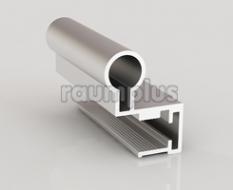Профиль вертикальный серии 410 серебро