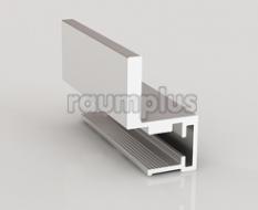 Профиль вертикальный серии 420 серебро