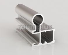 Профиль вертикальный серии 710 серебро