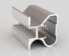 Профиль вертикальный серии 753 серебро