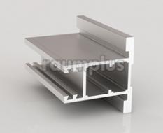 Профиль вертикальный серии 800 серебро