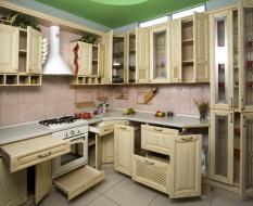 выдвижныесистемы для кухонных шкафов