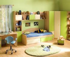 Шкафы в детскую на заказ