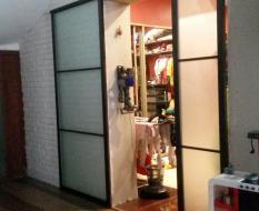 Раздвижные двери в гардеробную (2)