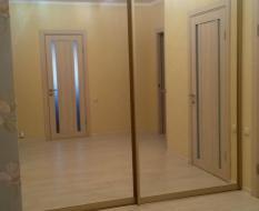Раздвижная перегородка зеркальная (1)