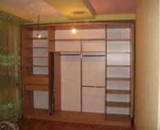 Внутренняя конфигурация шкафа-купе