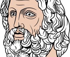 Aesculapius Head