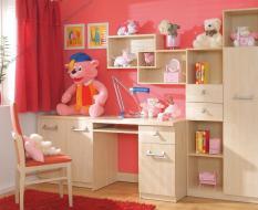Светлая мебель для девочек