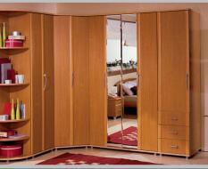 Угловой шкаф для комнаты