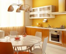 Желтая кухня ЛДСП