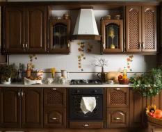 Кухни в стиле Италия