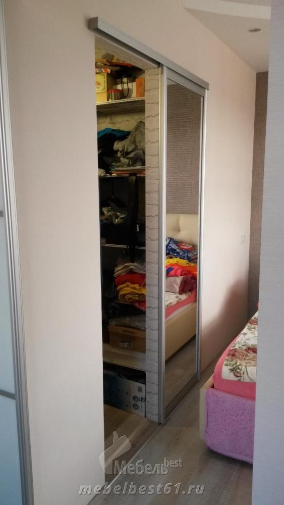 дверь купе в гардеробную фото