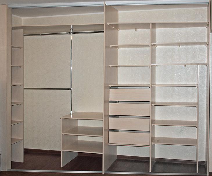 встроенные шкафы фото дизайн внутри с размерами все сбываются